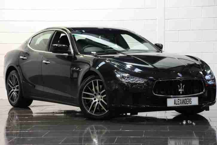 maserati 2015 ghibli 3 0 dv6 auto black diesel car for sale. Black Bedroom Furniture Sets. Home Design Ideas