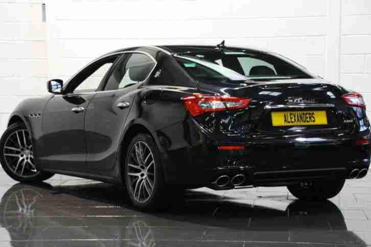 Maserati 2015 GHIBLI 3.0 DV6 AUTO BLACK DIESEL. car for sale