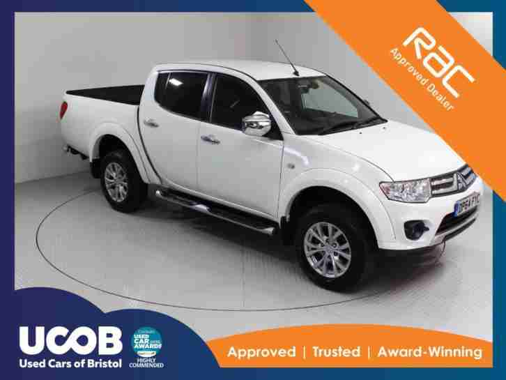 2015 MITSUBISHI L200 2.5 DI D CR WARRIOR DOUBLE CAB PICKUP 4WD 4DR PICK UP DIESE