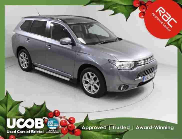 Mitsubishi OUTLANDER. Mitsubishi car from United Kingdom