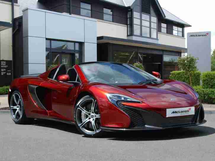 Mclaren 650S. Other car from United Kingdom