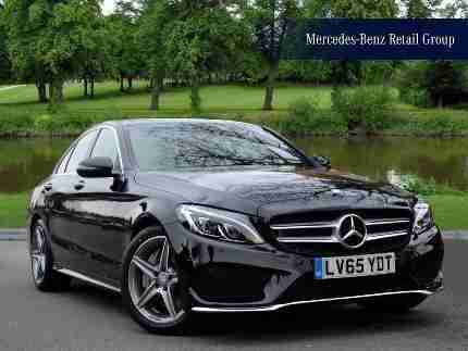 Mercedes Benz 2015 C Class C250d Diesel black Automatic car for sale