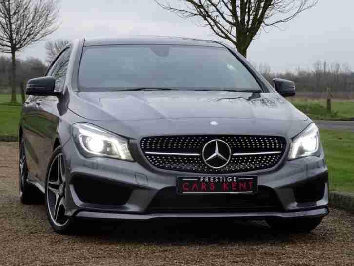 Nieuw Mercedes Benz 2015 CLA Class CLA 220 CDI AMG Sport 4dr Tip Auto Diesel EO-48