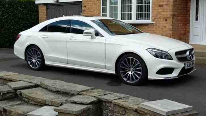 2015 Mercedes Benz Cls Cls 220 Bluetec Amg Line Premium 7g