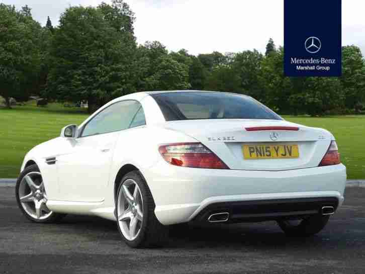 mercedes benz 2015 slk diesel roadster 250 cdi amg not specified white. Black Bedroom Furniture Sets. Home Design Ideas