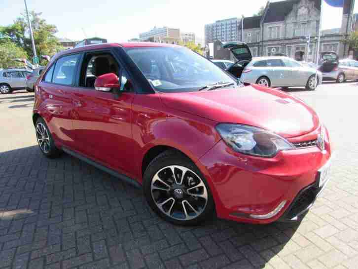 2015 Mg MG3 1.5 VTi-Tech 3Style Lux 5dr Petrol Manual Hatchback