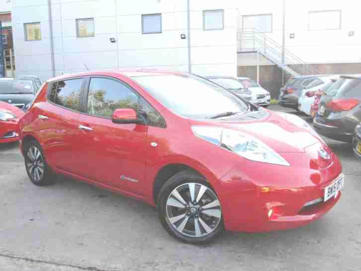 2015 NISSAN LEAF 80kW Tekna 24kWh 5dr Auto GO ELECTRIC TODAY SAVE SAVE SAVE
