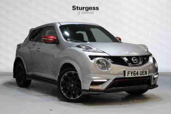 2015 Nissan Juke 1.6 DIG T Nismo RS 5dr Petrol silver Manual
