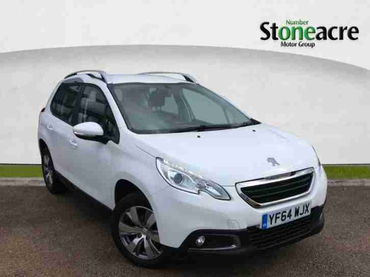 2015 Peugeot 2008 1.4 HDi Active SUV 5dr Diesel Manual (104 g km, 68 bhp)