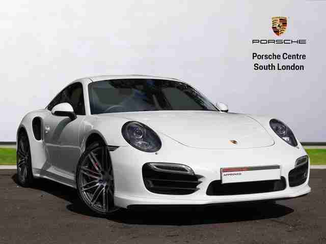 2015 911 TURBO PDK Petrol white Semi