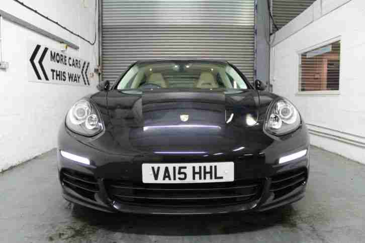 "2015 Porsche Panamera 3.0 (300bhp ) PDK, BLACK, AUTO, 20"" ALLOYS, VERY HIGH SPEC"