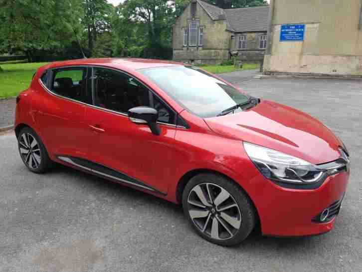 2015 RENAULT CLIO 1.5 DCI NAV 5 DOOR HATCHBACK RED DAMAGED REPAIRED (NO RESERVE)