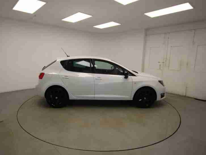 2015 SEAT Ibiza Fr Black Tsi Act Petrol White Manual