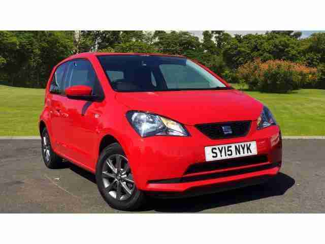 Seat Mii. Seat car from United Kingdom