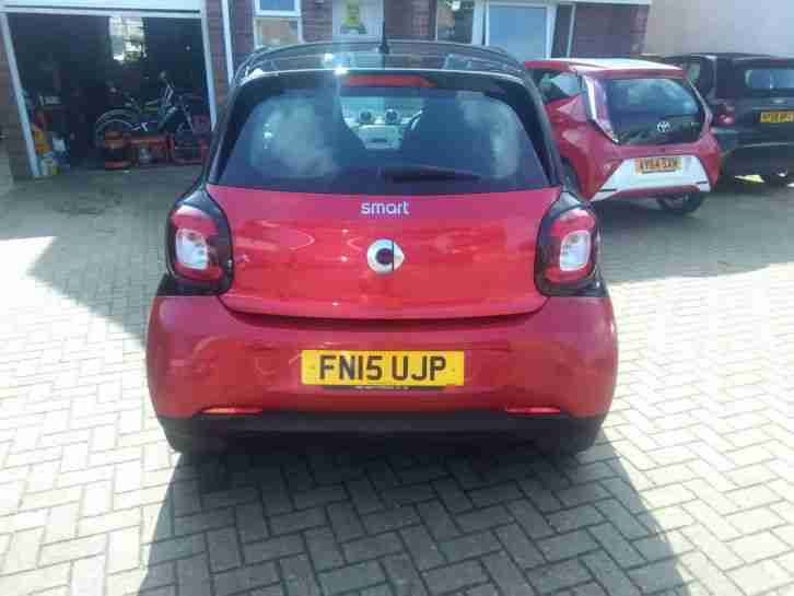 2015 SMART FORFOUR PASSION RED, 14K Mileage