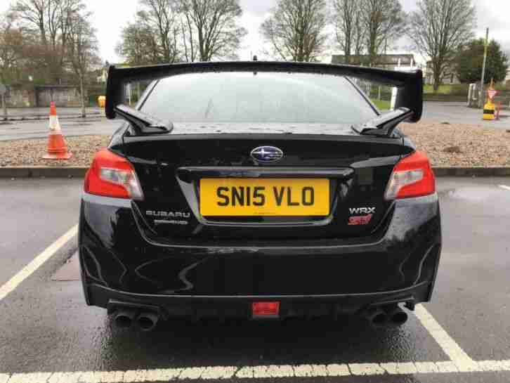 2015 SUBARU WRX STI TYPE UK SYMETRICA BLACK LOW MILEAGE