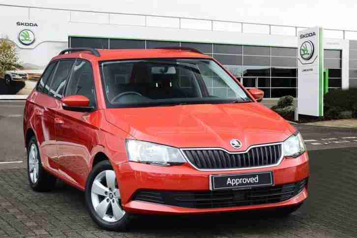 2015 Skoda Fabia 1.0 MPI SE (75 BHP) S S Petrol red Manual