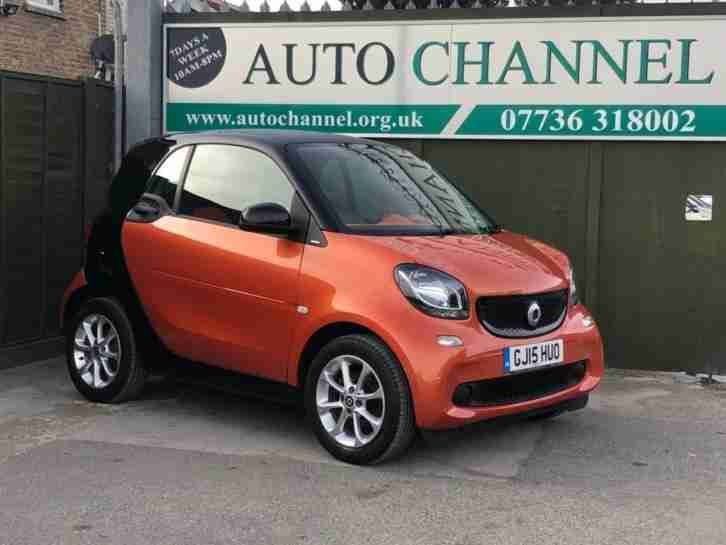 2015 Smart Fortwo 1.0 Passion (s s) 2dr
