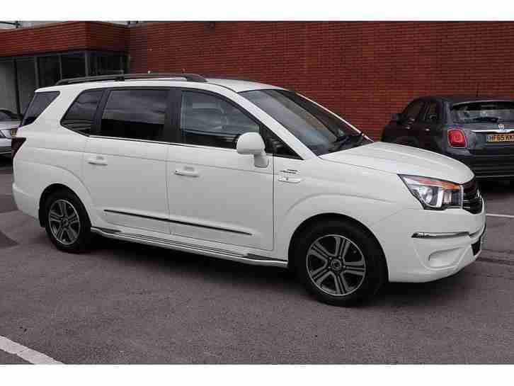 2015 SsangYong Turismo 2.0 EX 5dr Tip Auto 4WD 5 door MPV