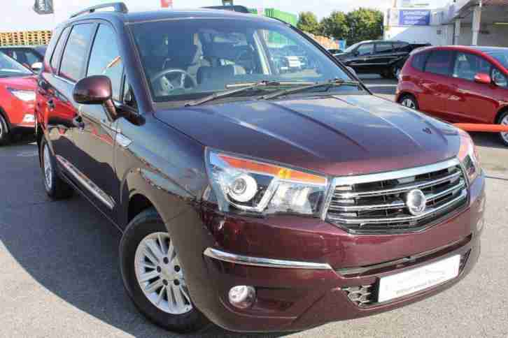 2015 SsangYong Turismo 2.0 TD ES T Tronic 5dr