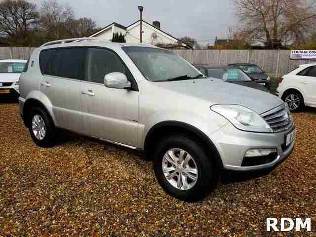 Ssangyong REXTON. Ssangyong car from United Kingdom
