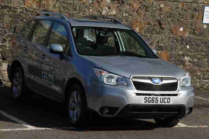 Subaru Forester. Subaru car from United Kingdom