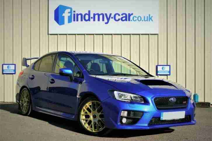 2015 Subaru WRX STI TYPE UK SALOON Petrol Manual