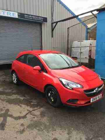 2015 vauxhall corsa excite ac light damaged repairable salvage car for sale. Black Bedroom Furniture Sets. Home Design Ideas