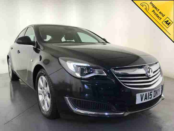 2015 VAUXHALL INSIGNIA TECHLINE CDTI ECO DIESEL SAT NAV LEATHER INTERIOR 1 OWNER
