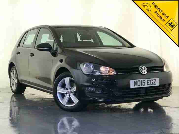 2015 VOLKSWAGEN GOLF MATCH TDI DIESEL BLUEMOTION 1 OWNER SERVICE HISTORY