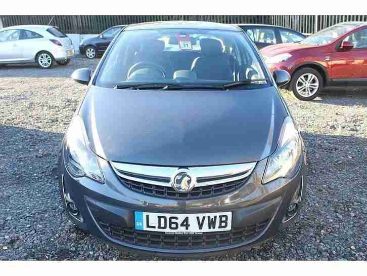 2015 vauxhall corsa 1 4 excite 3dr ac petrol grey manual car for sale. Black Bedroom Furniture Sets. Home Design Ideas
