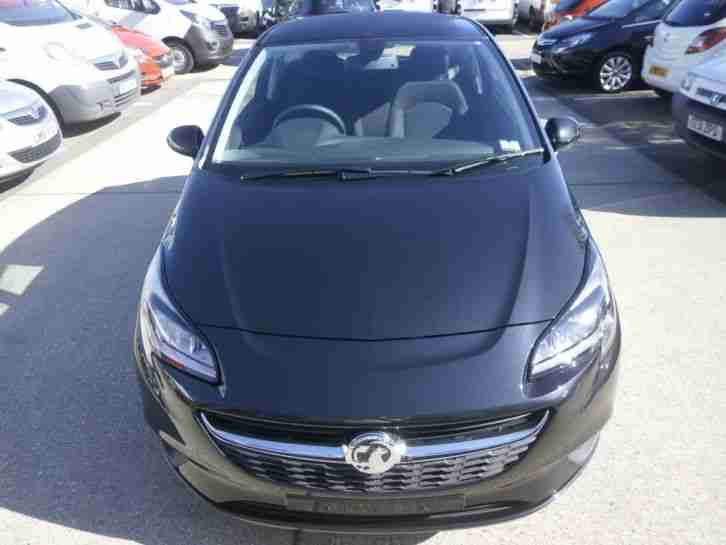 2015 vauxhall corsa corsa 1 2 excite 3dr a c petrol black manual car for sale. Black Bedroom Furniture Sets. Home Design Ideas