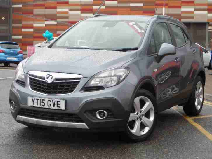 2015 Vauxhall Mokka EXCLUSIV CDTI S S Diesel grey Manual