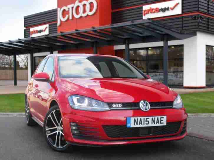 2015 Golf 2.0 TDI GTD 5dr Manual