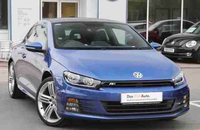 volkswagen 2015 scirocco 2 0 tdi r line bmt 150 ps diesel blue manual. Black Bedroom Furniture Sets. Home Design Ideas