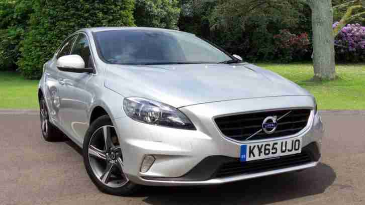 2015 Volvo V40 R-Design Nav with Winter Pack and Park Assist Diesel silver Manua
