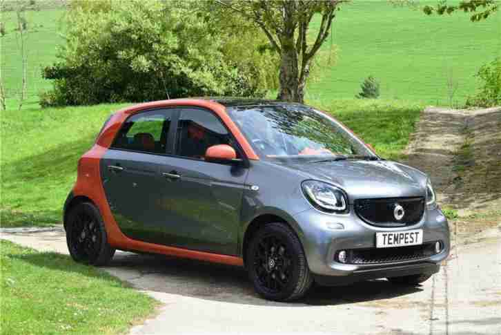 2015 forfour Edition 1 T Petrol grey