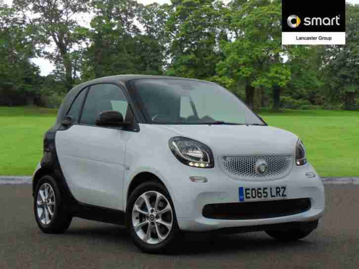 2015 smart fortwo coupe 1.0 Passion 2dr Petrol white Manual