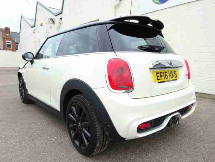 2016 16 REG BMW MINI COOPER S 2.0 TURBO NEW SHAPE SPORT COUPE DAMAGED SALVAGE