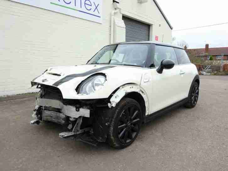 *2016 16 REG* BMW MINI COOPER S 2.0 TURBO NEW SHAPE SPORT COUPE DAMAGED SALVAGE
