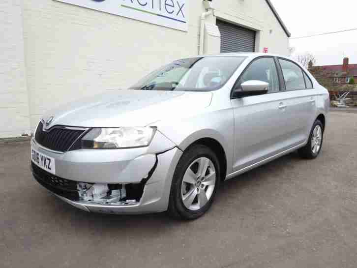 **2016 16 REG** SKODA RAPID TSI TURBO DSG AUTO NEW SHAPE DAMAGED SALVAGE