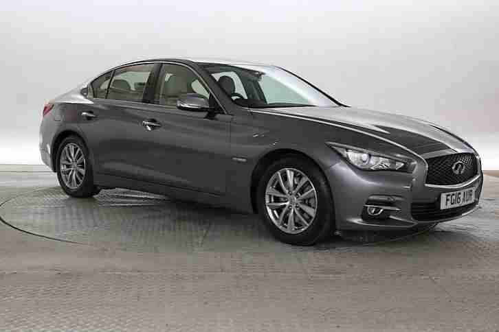 2016 16 reg infiniti q50 3 5 t premium executive met grey petrol. Black Bedroom Furniture Sets. Home Design Ideas