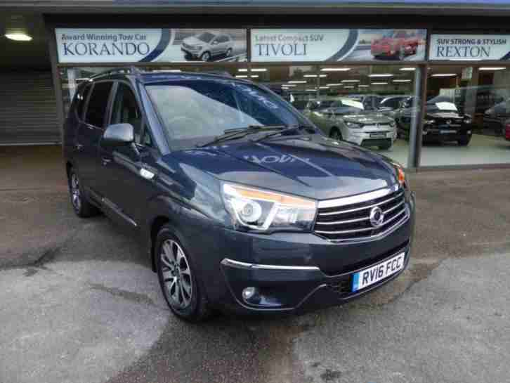 2016 16 SSANGYONG TURISMO 2.2 ELX 5DR AUTO 176 BHP DIESEL