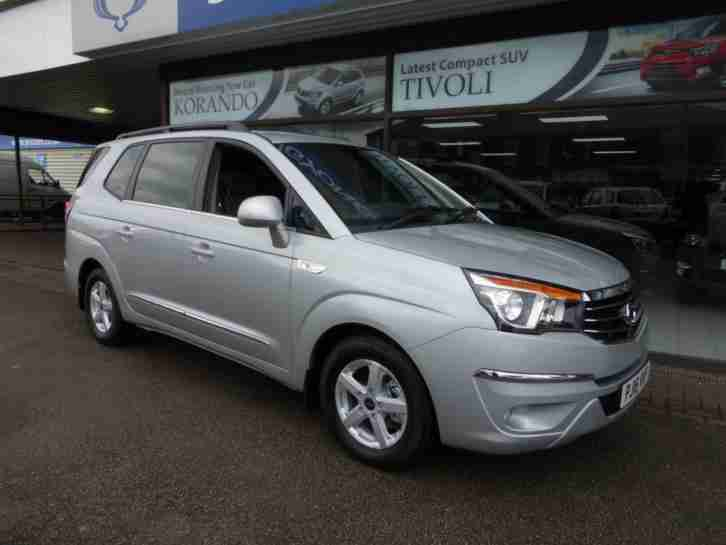 2016 16 SSANGYONG TURISMO 2.2D S 7 SEAT MPV DIESEL