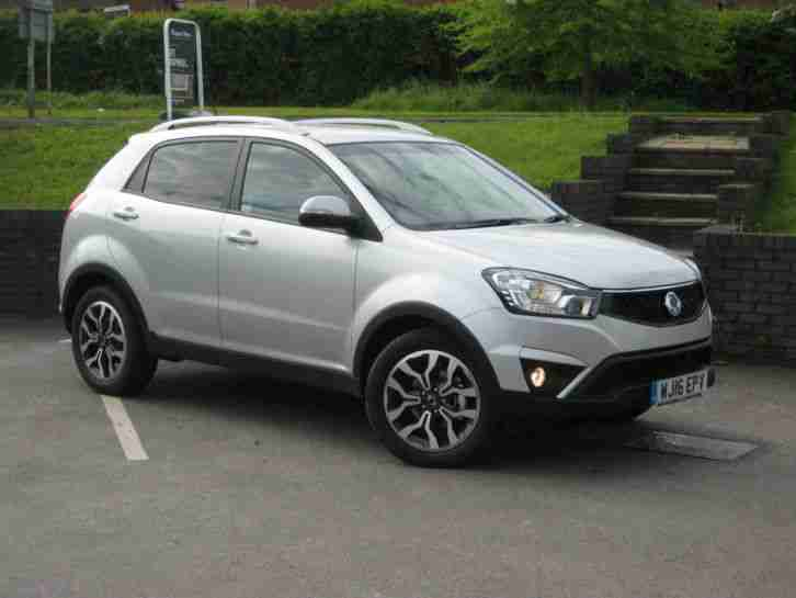 Ssangyong Breaking 2014 Korando Sports Ex Blue Manual Most