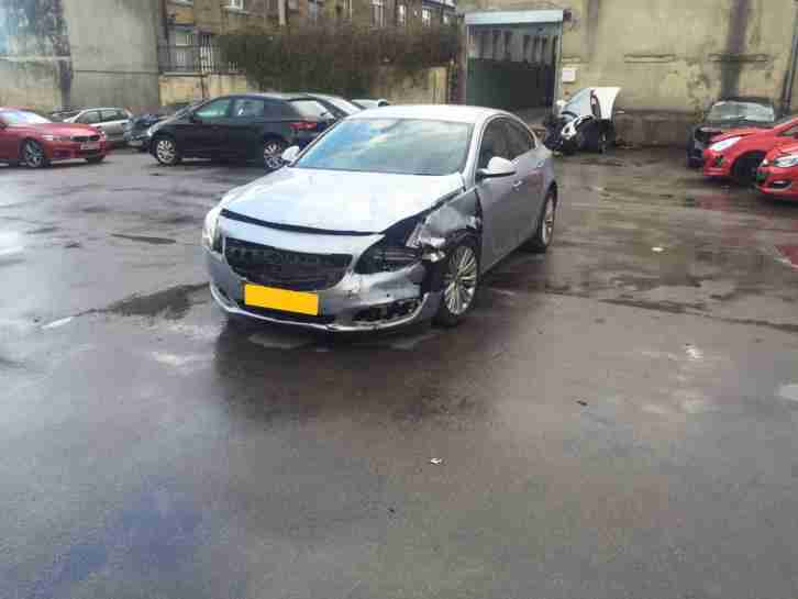 2016 (16) VAUXHALL INSIGNIA TECH LINE CDTI ECOFLEX DAMAGED SALVAGE TOP SPEC
