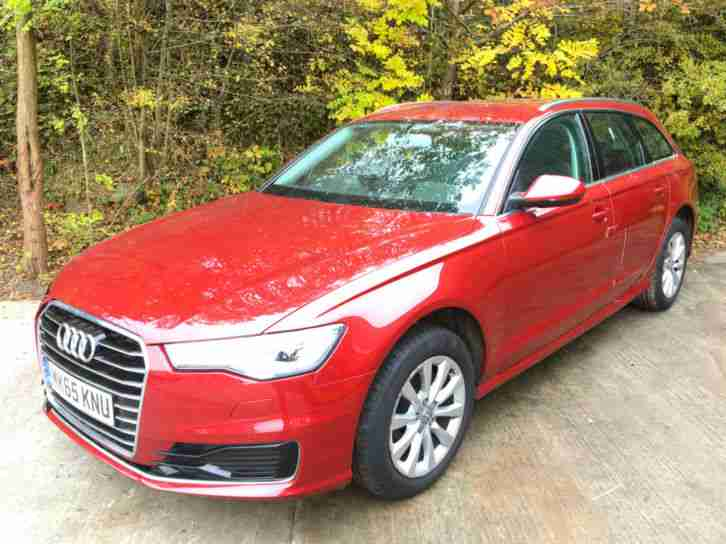2016 65 AUDI A6 AVANT ESTATE 2.0TDi ULTRA S-TRONIC DAMAGED REPAIRABLE SALVAGE