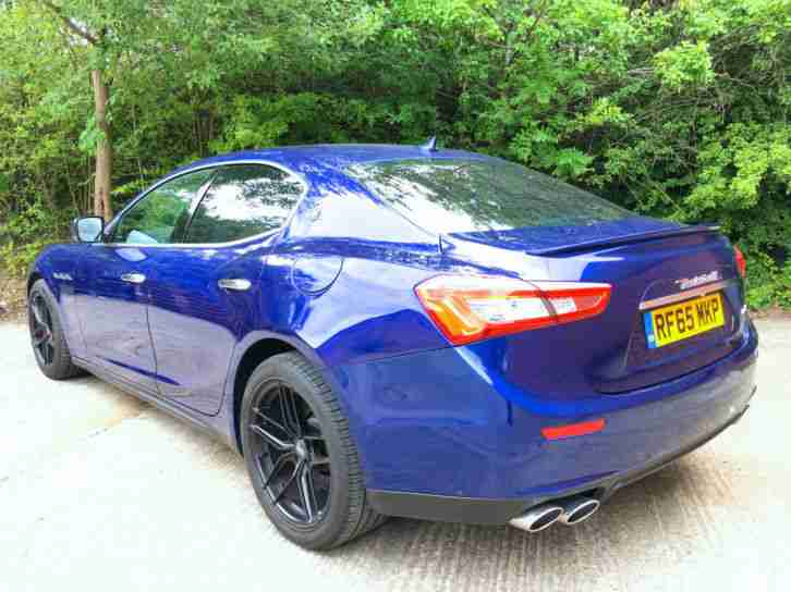 2016 65 REG MASERATI GHIBLI 3.0TDi V6 AUTO NEWSHAPE DAMAGED REPAIRED SALVAGE