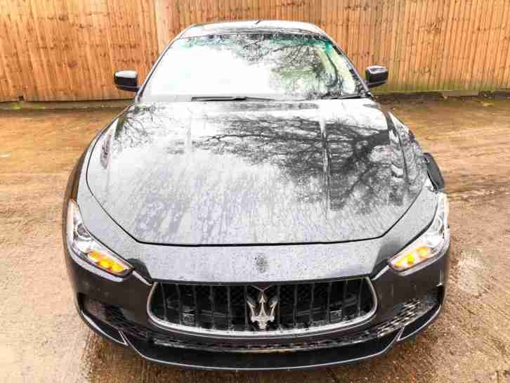 2016 65 REG MASERATI GHIBLI 3.0i V6 AUTO NEWSHAPE DAMAGED REPAIRABLE SALVAGE