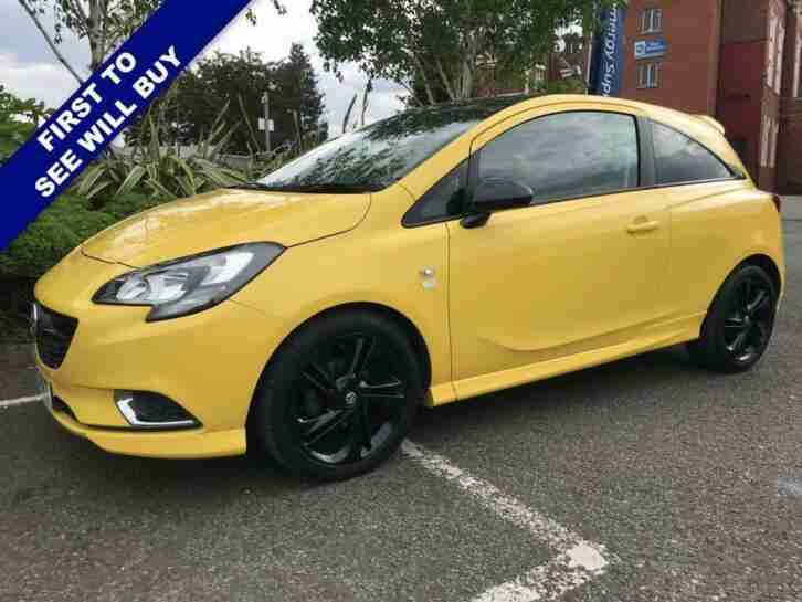 2016 65 VAUXHALL CORSA 1.4 LIMITED EDITION 3D